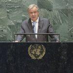 António Guterres pide a los líderes guiarse por la ciencia y alejarse del populismo