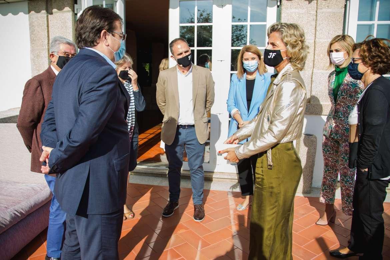 Fernández Vara defende a cooperação transfronteiriça para gerar oportunidades