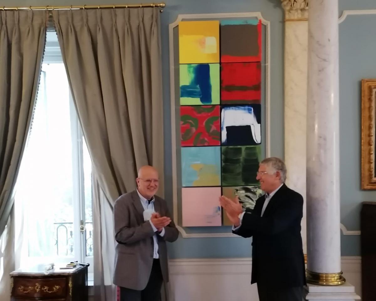 El pintor portugués Pedro Calapez presenta sus trabajos inéditos en Madrid