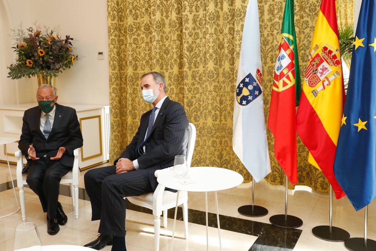 """<span class=""""entry-title-primary"""">Marcelo Rebelo de Sousa y Felipe VI, juntos de nuevo</span> <span class=""""entry-subtitle"""">Galicia ha recibido el tercer encuentro de los jefes de Estado ibéricos tras el inicio de la pandemia</span>"""