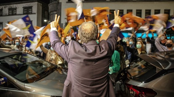 """<span class=""""entry-title-primary"""">La «Geringonça» de derecha llega a las Azores</span> <span class=""""entry-subtitle"""">El representante de la Presidencia de la República ha nombrado al Gobierno del PSD en el archipiélago</span>"""