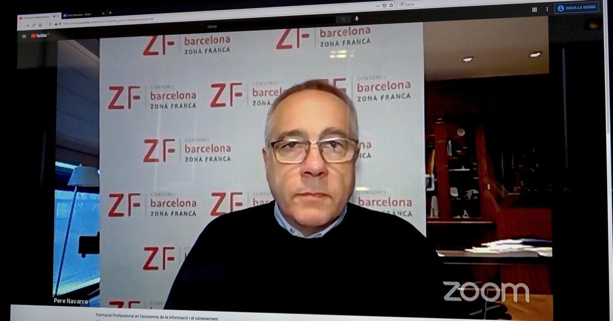 O Consorci da Zona Franca de Barcelona analisa o papel da formação profissional na nova economia