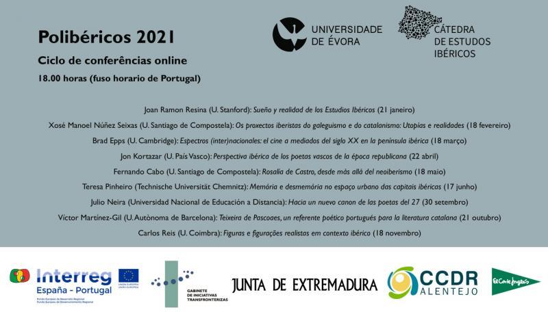 """""""Polibéricos 2021"""" reúne especialistas internacionais na área dos Estudos Ibéricos"""