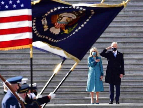 Líderes mundiais felicitam Joe Biden