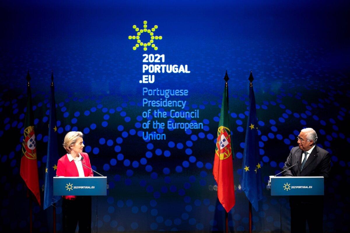 Von der Leyen em Portugal para marcar início da presidência portuguesa