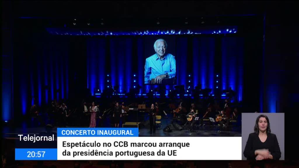 """<span class=""""entry-title-primary"""">Portugal inicia a presidência europeia ao som da música</span> <span class=""""entry-subtitle"""">O CCB recebeu o primeiro concerto de um longo programa que pretende dar a conhecer a cultura portuguesa a Europa</span>"""