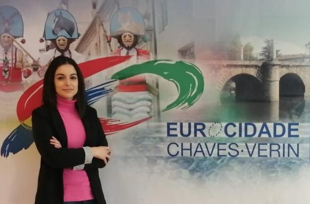 EL TRAPÉZIO entrevista técnica de Comunicação e Informação da Eurocidade Chaves-Verín
