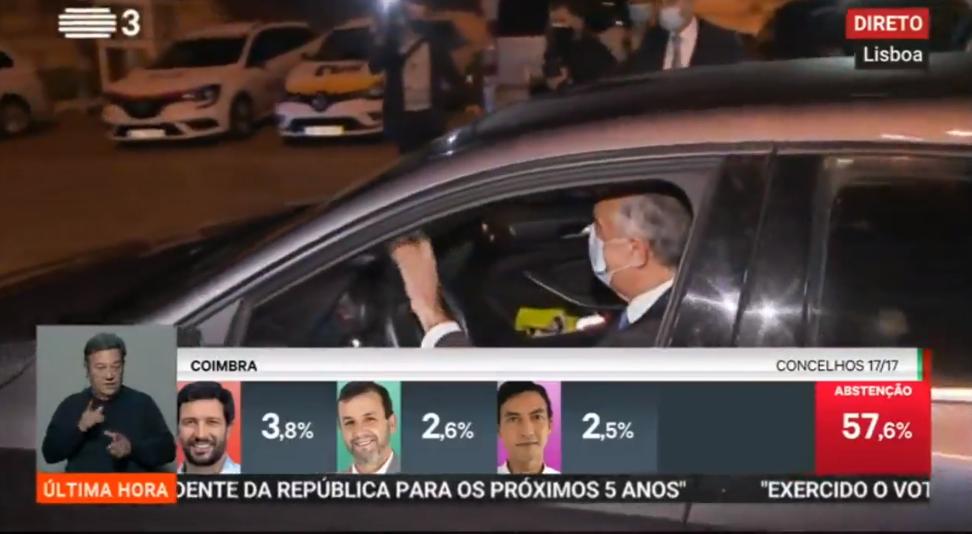 Análisis de los resultados: Marcelo Rebelo de Sousa será jefe del Estado durante otros cinco años