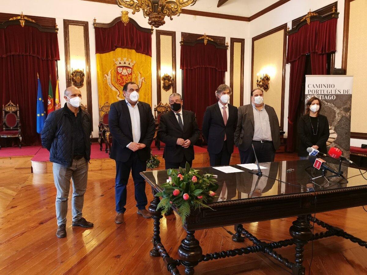 Autarquias do Centro de Portugal assinam certificação dos Caminhos de Santiago