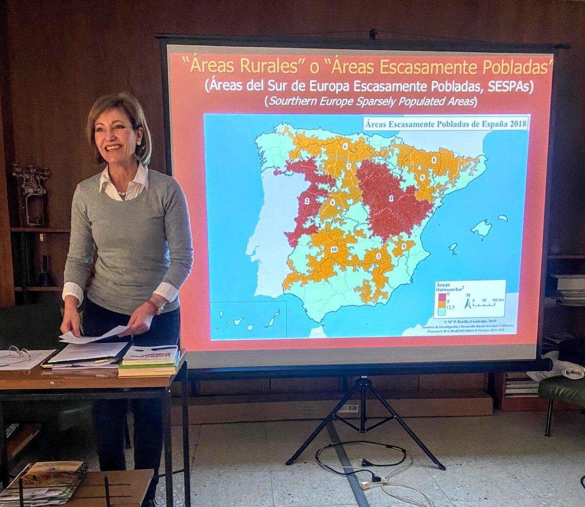 """<span class=""""entry-title-primary"""">Entrevista a Ana Morillo, presidenta de la Asociación Viriatos Zamora</span> <span class=""""entry-subtitle"""">Morillo explica la creación de la Red REND-SESPA en pro de """"un futuro sostenible para nuestros pueblos""""</span>"""