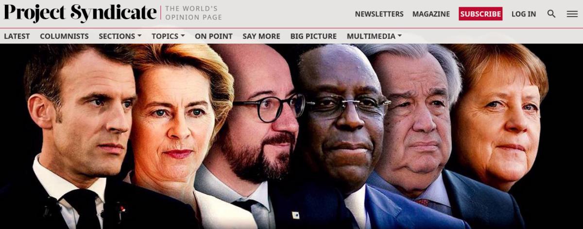"""<span class=""""entry-title-primary"""">António Guterres e outros líderes mundiais apostam pela cooperação multilateral para a recuperação global</span> <span class=""""entry-subtitle"""">Após a turbulenta Presidência de Trump, começa um ciclo positivo para o multilateralismo</span>"""