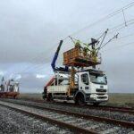 A linha de Salamanca a Portugal vai estrear a catenária por fases a partir do verão