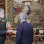 Os tweets da Casa Real perante a visita do recém-reeleito presidente da República Portuguesa