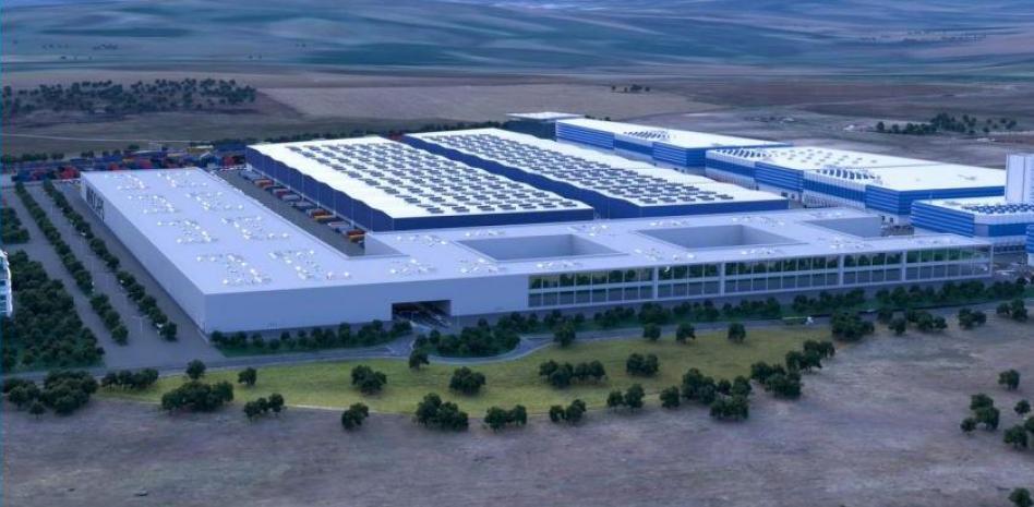La Raya extremeña albergará la primera fábrica de baterías del sur de Europa