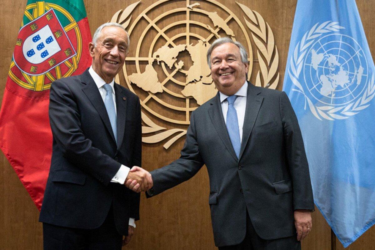ONU: Portugal apoya la candidatura a un segundo mandato de Guterres