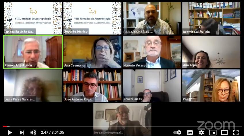 Los vídeos de las Jornadas de Antropología e Historia sobre Iberismo de la Fundación Lisón-Donald
