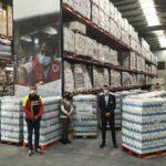 Mercadona entrega 10.800 litros de leite à Cruz Vermelha da Catalunha
