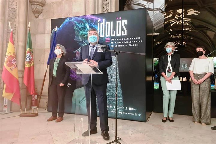 Los ministros ibéricos de Cultura inauguran una exposición en el Museo Nacional de Arqueología de la capital lisboeta