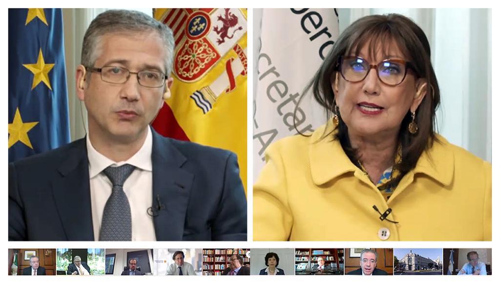 """<span class=""""entry-title-primary"""">Governadores dos bancos centrais da Ibero-América se reúnem pela primeira vez para debater políticas monetárias</span> <span class=""""entry-subtitle"""">Contou com a participação dos governadores dos bancos centrais de México, Colombia, Argentina, Brasil, Espanha e Portugal</span>"""