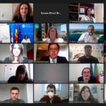 A Eurocidade Chaves-Verín celebra o dia de Europa juntamente com os Jovens da Galiza e Norte de Portugal