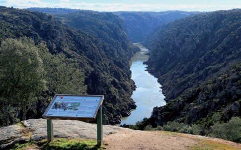 El Parque Natural del Duero Internacional, una puerta de entrada a Portugal