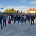 Una delegación de la Eurociudad del Guadiana visita su homóloga en Chaves-Verín