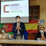 """Fernández Vara explica al presidente del Instituto Camões el proyecto de """"escuelas espejo"""" rayanas"""
