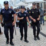 Polícias espanhóis patrulham em Lisboa durante o verão