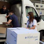 El primer enviament de vacunes d'AstraZeneca de Portugal ja està a Andorra