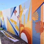 Santiago do Cacém cria mural em homenagem aos Caminhos de Santiago