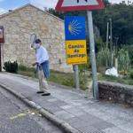 Peregrino Marcelo: o presidente portugués percorre discretamente o Camiño de Santiago
