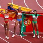Triplo salto nos Jogos Olímpicos termina coroando atletas da iberofonia
