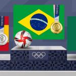 Brasil volta a ganhar o ouro olímpico no futebol após final com Espanha