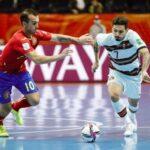 Remontada portuguesa no Mundial de futsal carimba passagem para a próxima fase