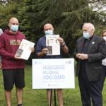 Un portugués convértese no peregrino 100.000 do Camiño de Santiago