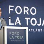 Pedro Sánchez e António Costa clausuraron o III «Foro La Toja»